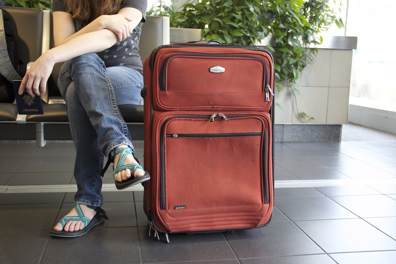 Suitcase to represent buyer's journey