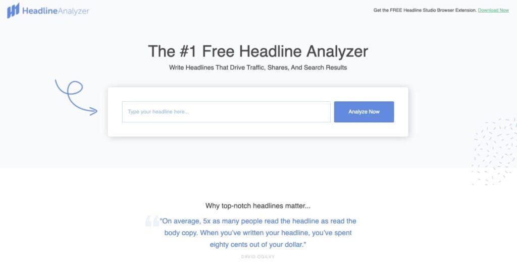 CoSchedule Headline Analyzer Screenshot